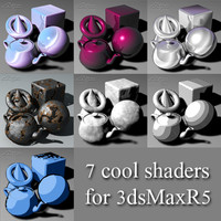 7 Cool Shaders for 3dsMax R5