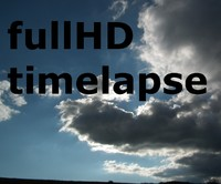 Dark clouds fullHD timelapse
