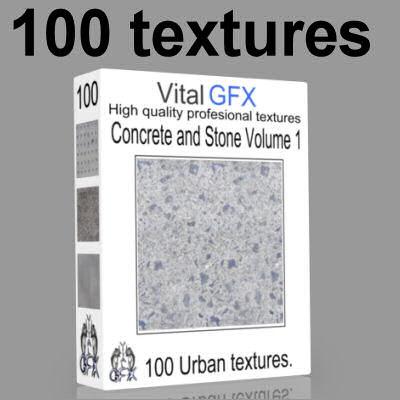 100 Concrete & Stone Vol 1