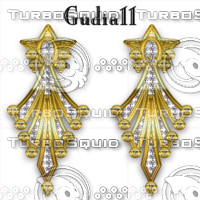 gudia11_flower earring in gold and diamonds_2