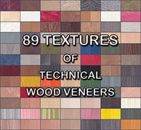 Collection of Dyed Real Wood Veneer Textures
