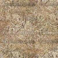 Seamless Straw Ground Texture