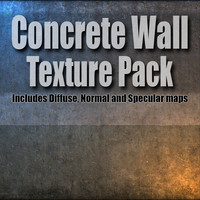 Concrete Wall texture pack