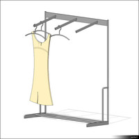 Clothes Rack 00184se