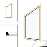 Window Fixed Trapeze 00236se