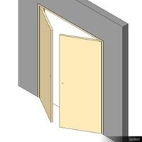 Door Swing Double 01073se