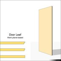 Door Leaf 01077se