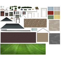 2D House Front Pack Large