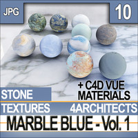 Blue Marble Textures & Materials Vol. 1