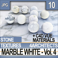 Marble White Vol. 4 - Textures & Materials