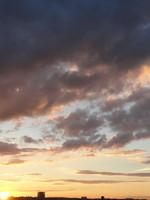 Sunset Sky 03 - stock photo