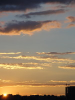 Sunset Sky 07 - stock photo