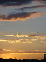 Sunset Sky 09 - stock photo