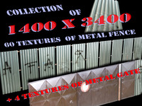 metal fence textures pack
