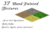 37 Hand Painted Environment Textures