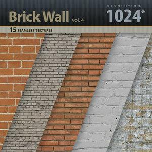 Brick Wall Textures vol.4