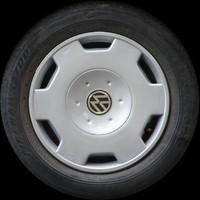 VW Gol wheel texture