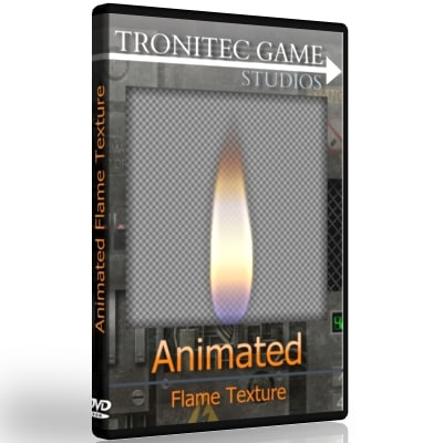 Animated Flame Texture