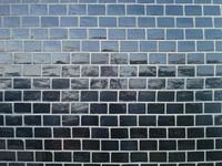 black glossy brick
