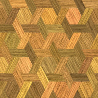wood persian interlock
