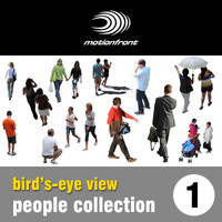 "Bird"" s - eye view people collection 1"