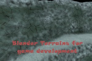 Blender terrains for games tutorial