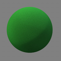 Maya Green Foam Rubber