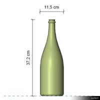 Bottle Champagne 1,5L Magnum 00175se