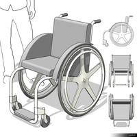 Wheel Chair 00218se