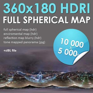 HDRI Paris Map [P046]
