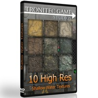 10 High Res Shallow Water Textures