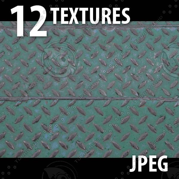 12 Textures (Bricks, Metal, Sand, Wall, Paint)