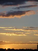 Sunset Sky 08 - stock photo