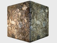 Seamless High-rez Natural Cobblestone with normals and specular