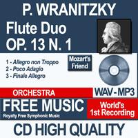 P. WRANITZKY - Flute Duo Op. 13 N. 1