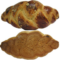 sweet bread paskalya