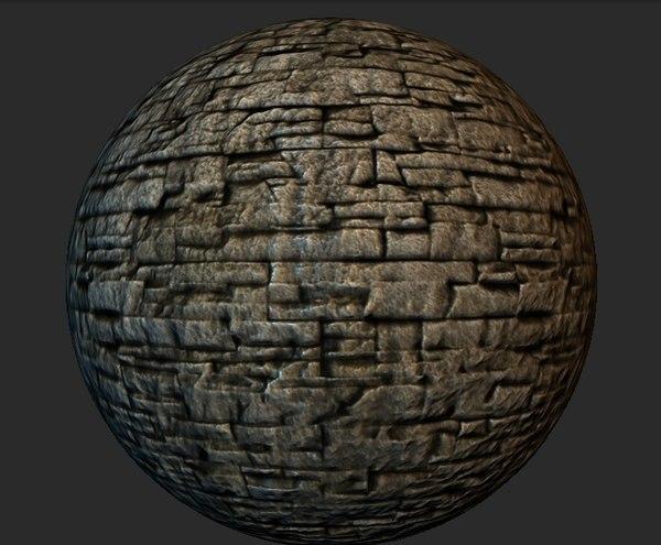 Stone Wall Material v3