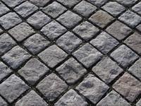Granite setts detail
