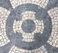 Mosaic Tile Sidewalk 08