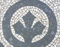 Mosaic Tile Sidewalk 09