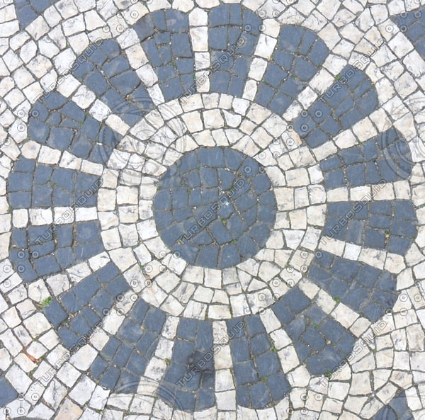 Texture jpg tile mosaic sidewalk