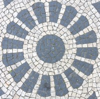 Mosaic Tile Sidewalk 10