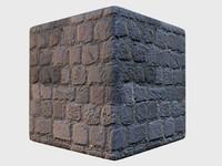 Seamless High-rez Square Cobblestone with Normals and Spec