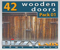 DLWOOD ArchitecturalParts Door Pack 01