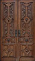 Wooden Double Door 01