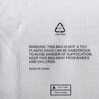 Bag Warning Texture