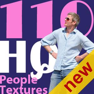 NEW 110 people textures vol.3