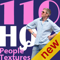 NEW 110 people textures vol.3