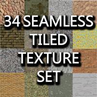 34 Seamless tileable textures