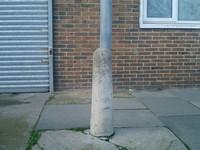 british street post